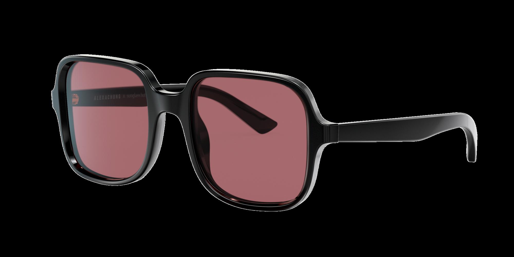 Coleccion Sunglass Hut Unisex  HU4005 -  Frame color: Negro, Lens color: Violeta, Size 54-21/140