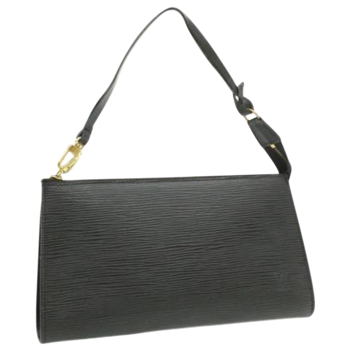 Louis Vuitton N Black Leather handbag for Women N