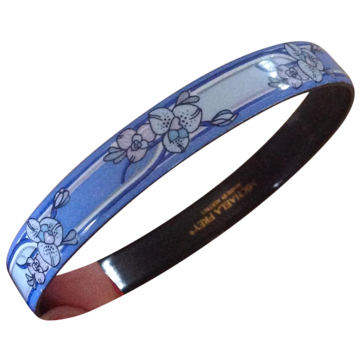 Michaela Frey - Bracelet   pour femme en acier - bleu