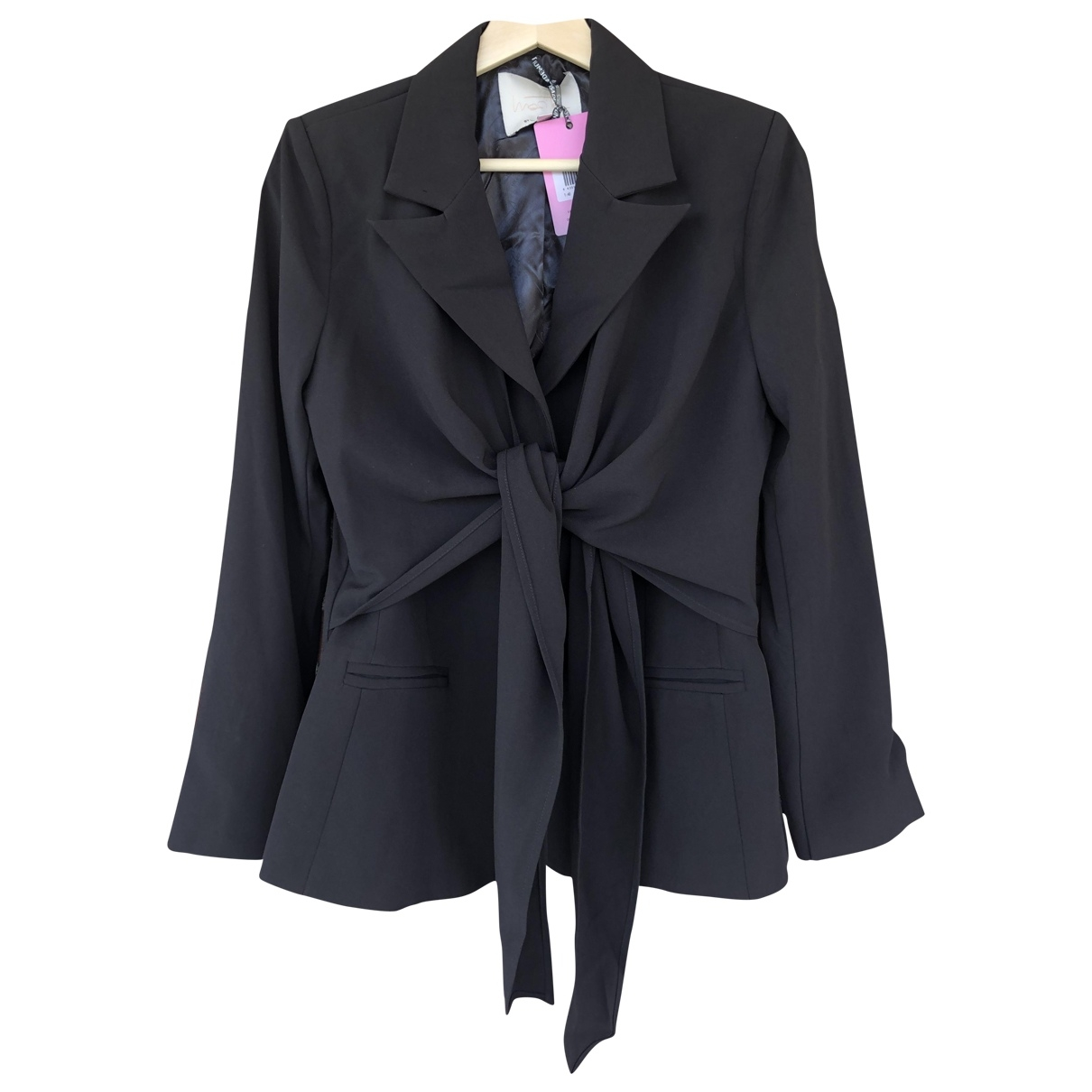 Non Signé / Unsigned \N Black jacket for Women 40 FR