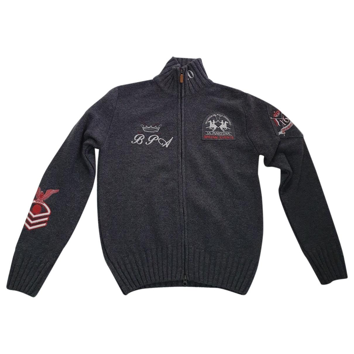 Non Signé / Unsigned \N Grey Wool Knitwear & Sweatshirts for Men S International