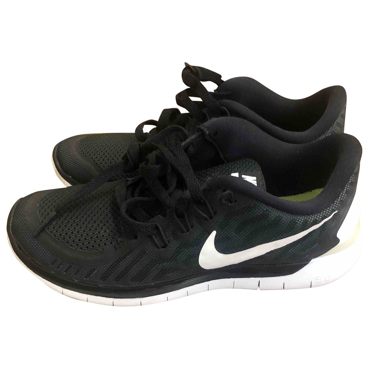 Nike - Baskets Free Run pour femme en toile - noir