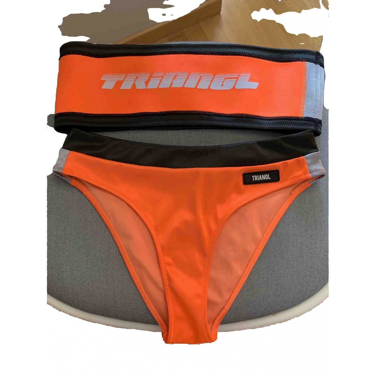 Triangl \N Orange Swimwear for Women M International