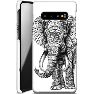 Samsung Galaxy S10 Plus Smartphone Huelle - Ornate Elephant von BIOWORKZ