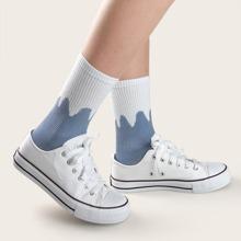 Two Tone Socks