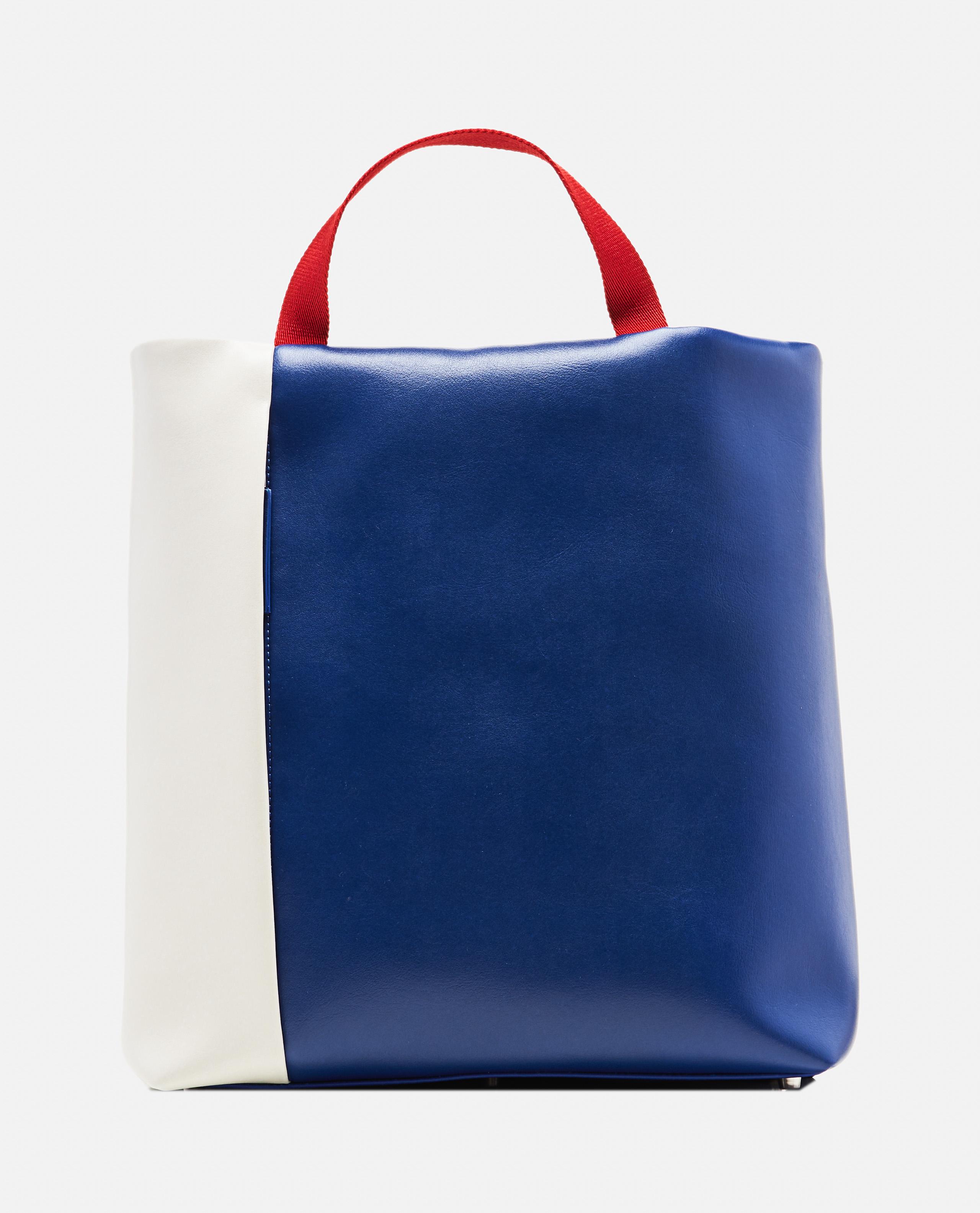 Color-block  tote bag