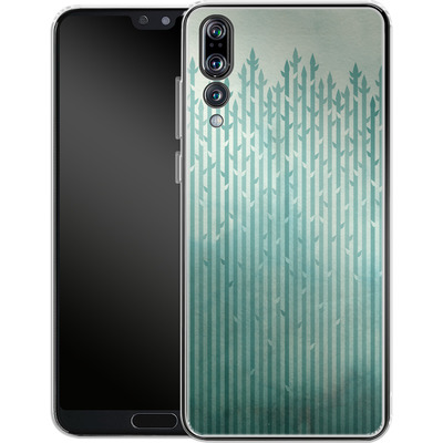 Huawei P20 Pro Silikon Handyhuelle - Misty Morning von Little Clyde