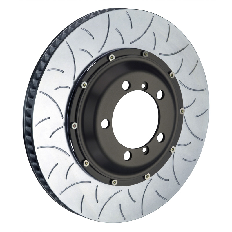 Brembo 380x34 2-Piece Slotted Rotors Type-3 Front Rotors