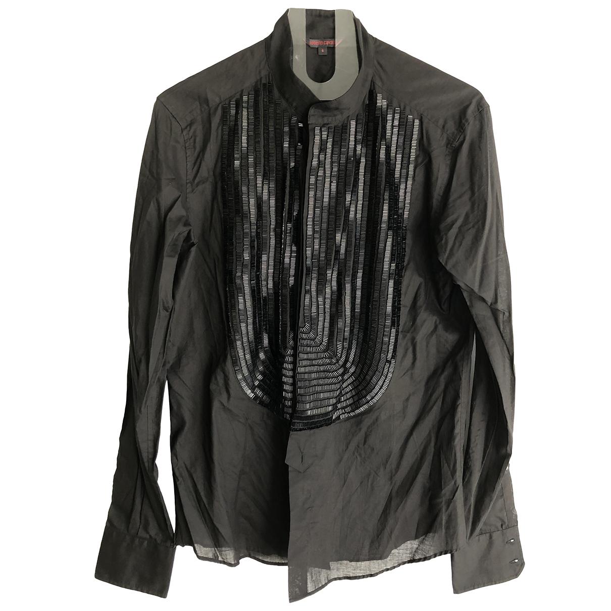 Roberto Cavalli \N Hemden in  Schwarz Baumwolle