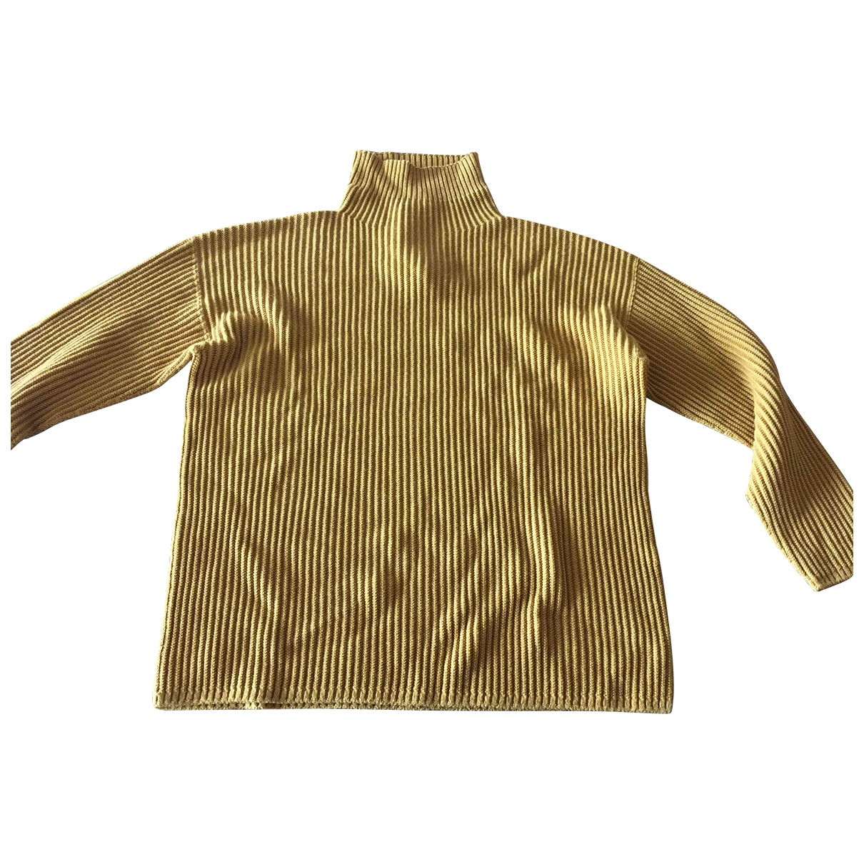 Max Mara \N Pullover in  Gelb Wolle