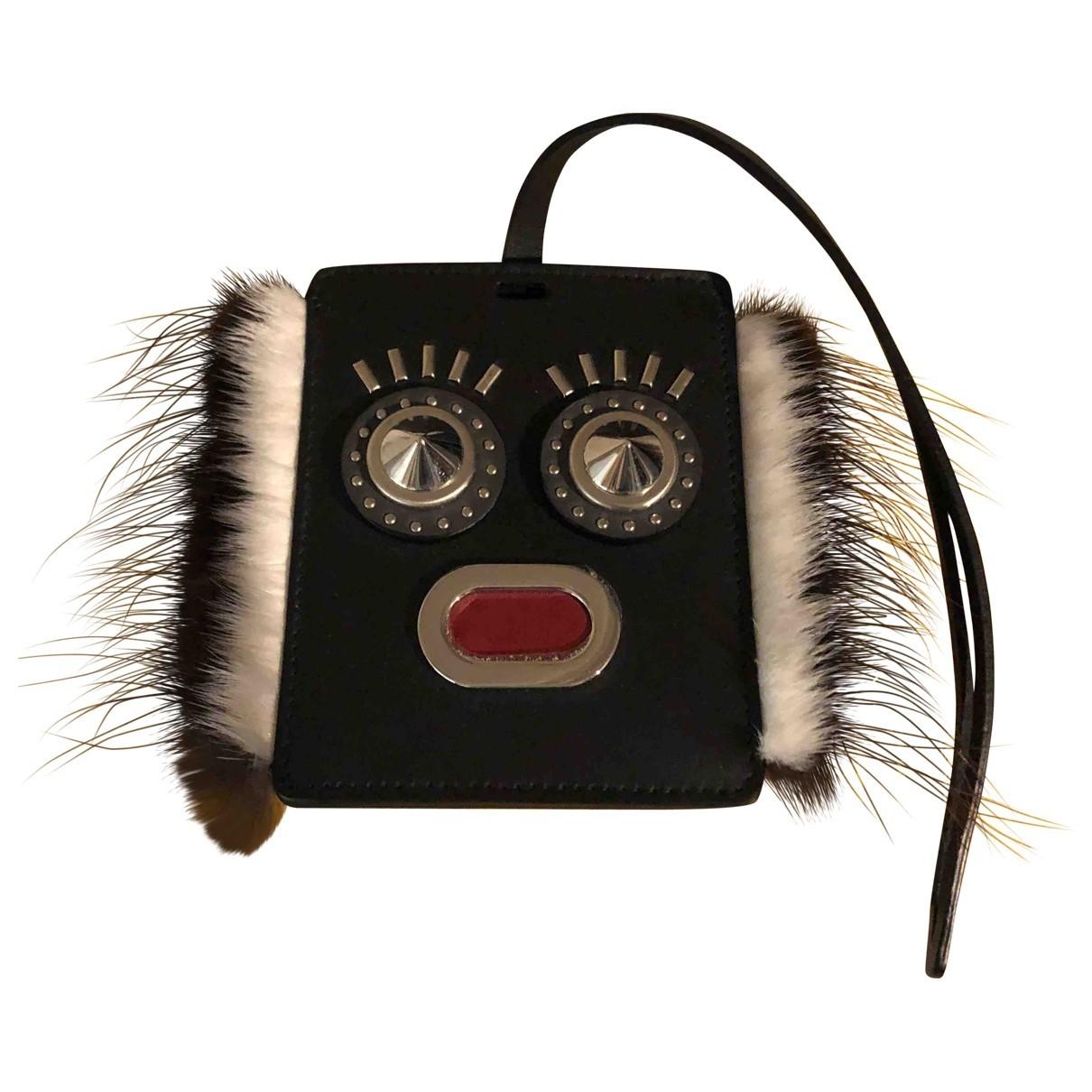 Fendi \N Accessoires und Dekoration in  Schwarz Leder