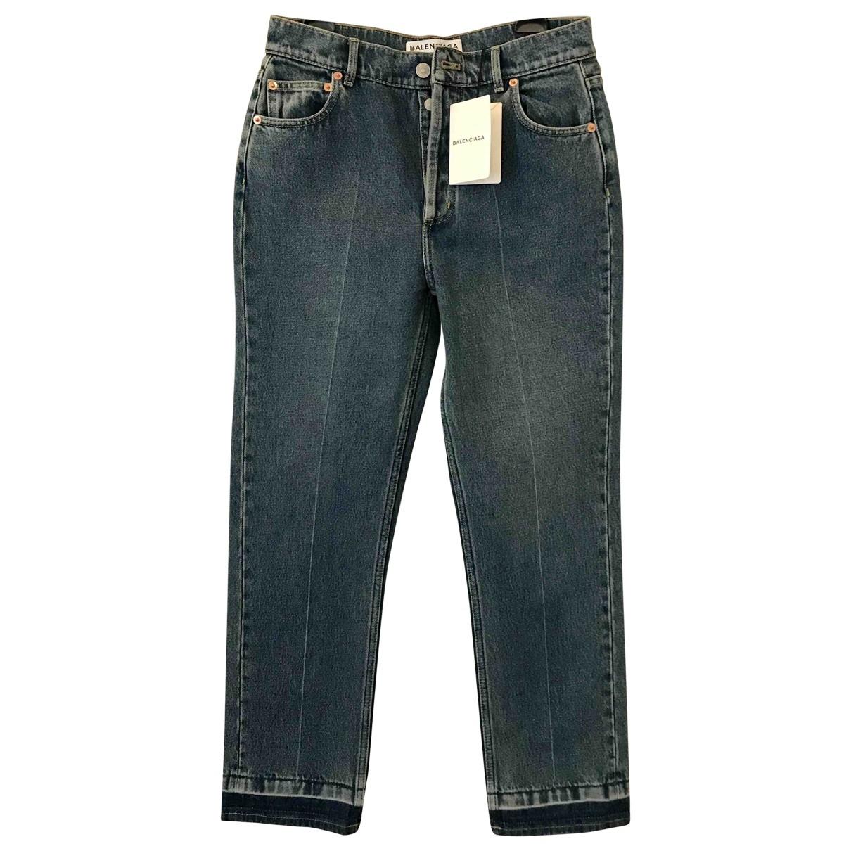 Balenciaga \N Blue Denim - Jeans Jeans for Women 28 US