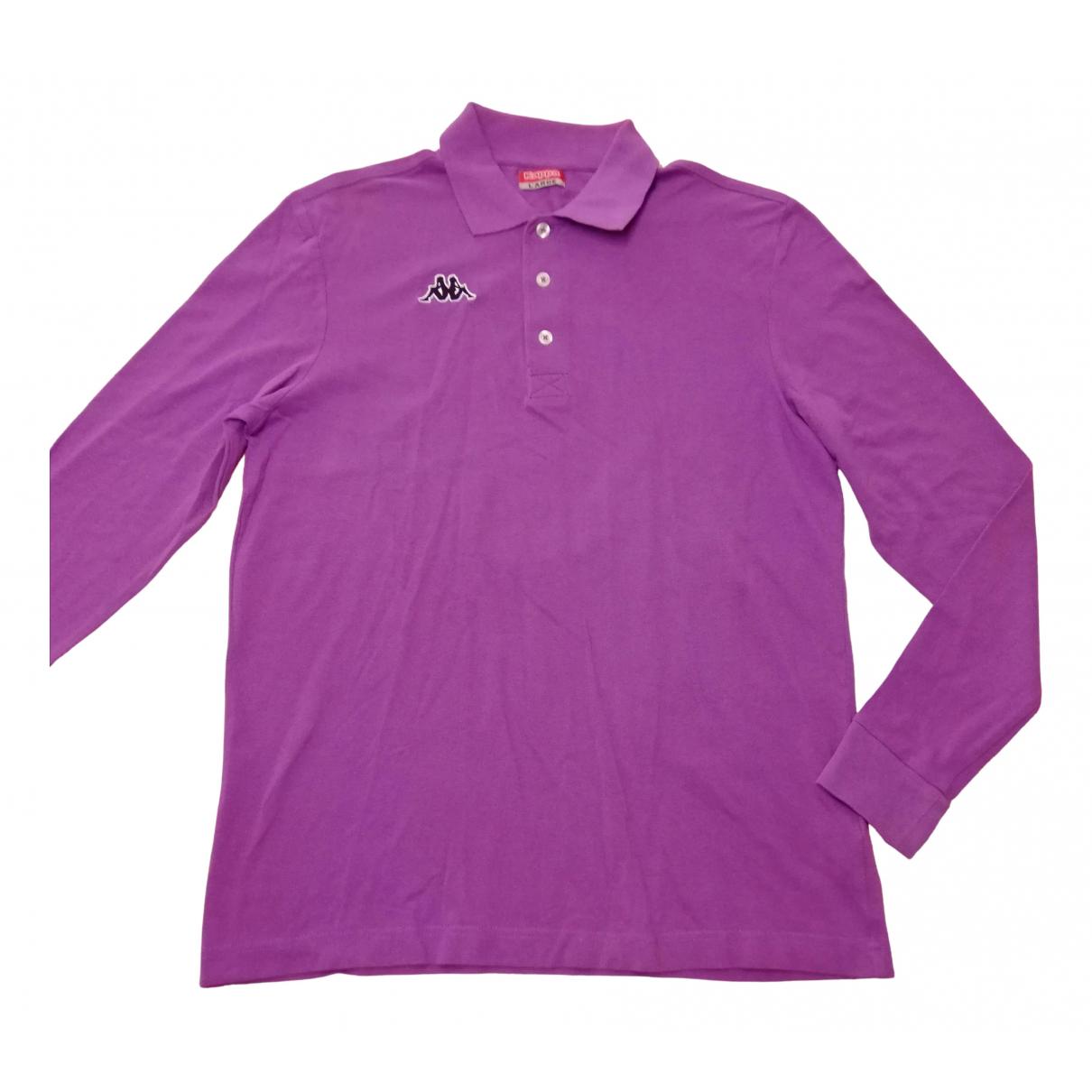 Kappa \N Poloshirts in  Lila Baumwolle