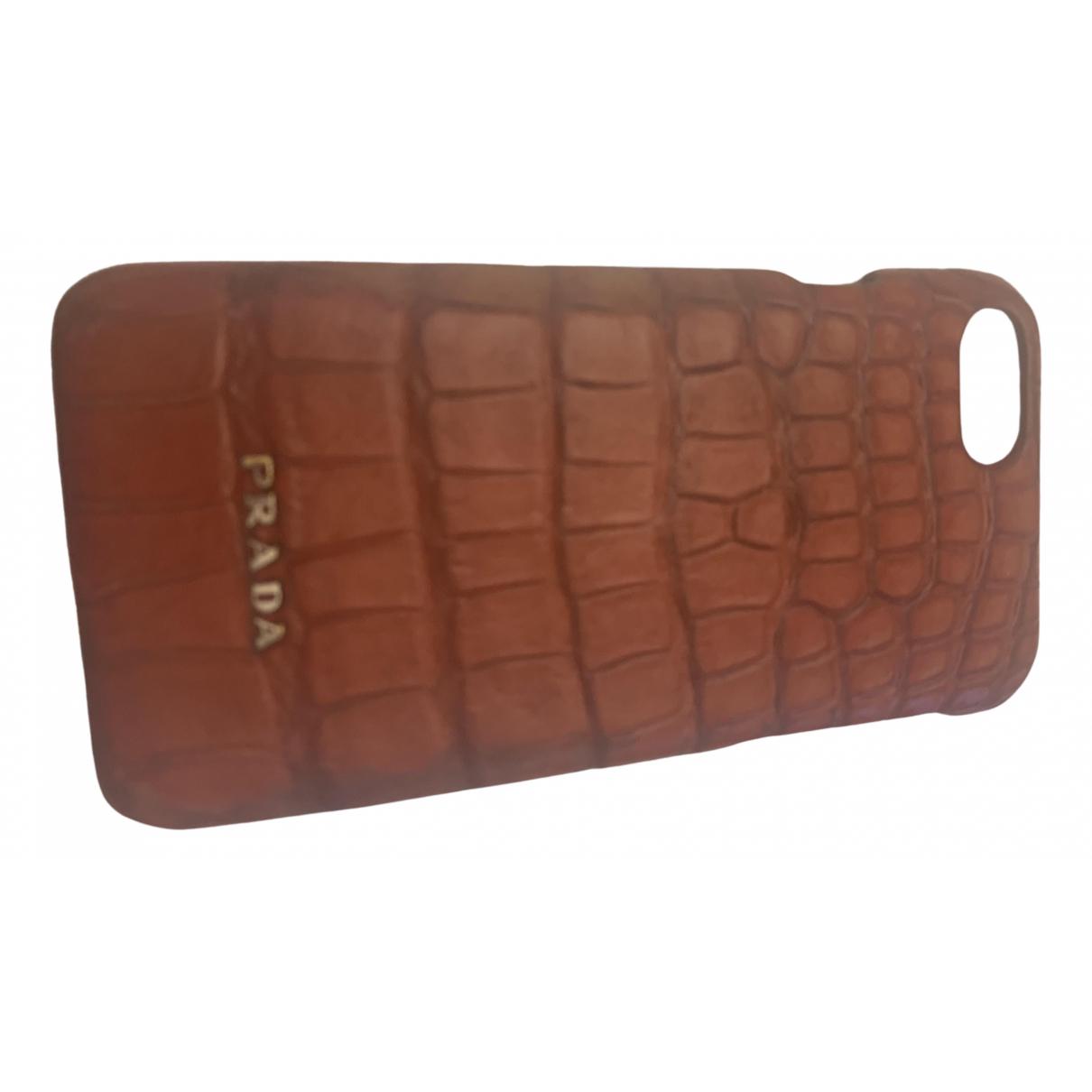 Prada - Accessoires   pour lifestyle en crocodile - rouge