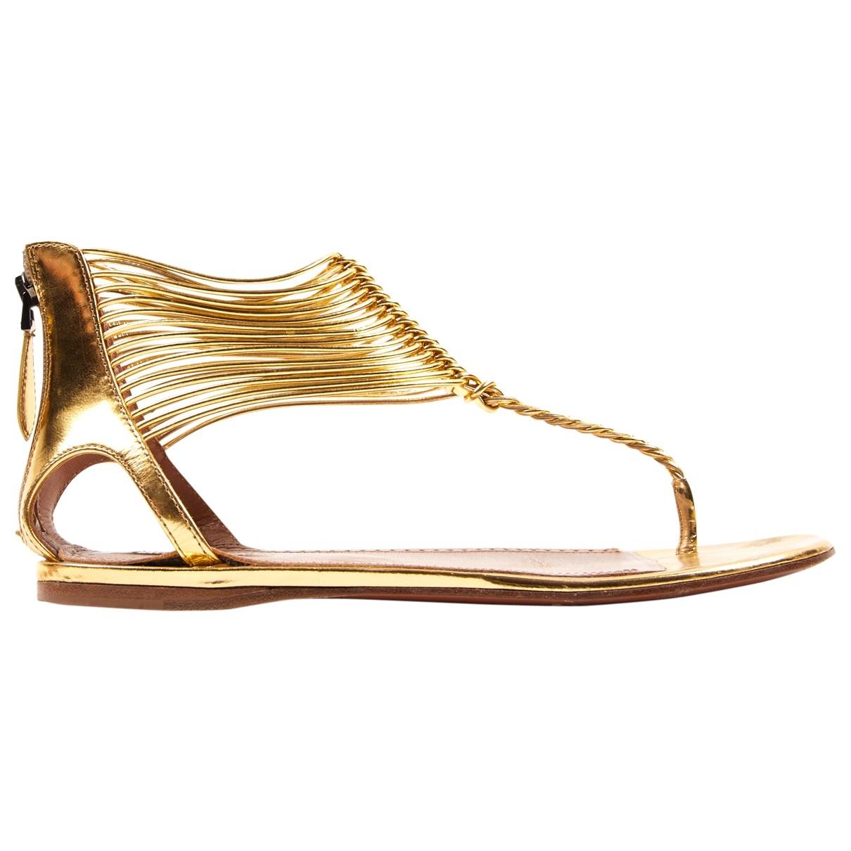 Sandalias romanas de Cuero Alaia