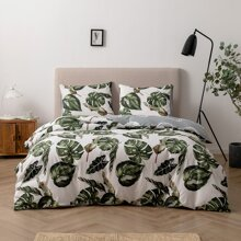 Tropical Print Bedding Set Without Filler