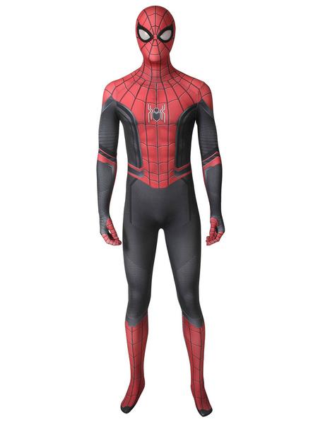 Milanoo Marvel Comics Spider Man Far From Home Halloween Cosplay Costume