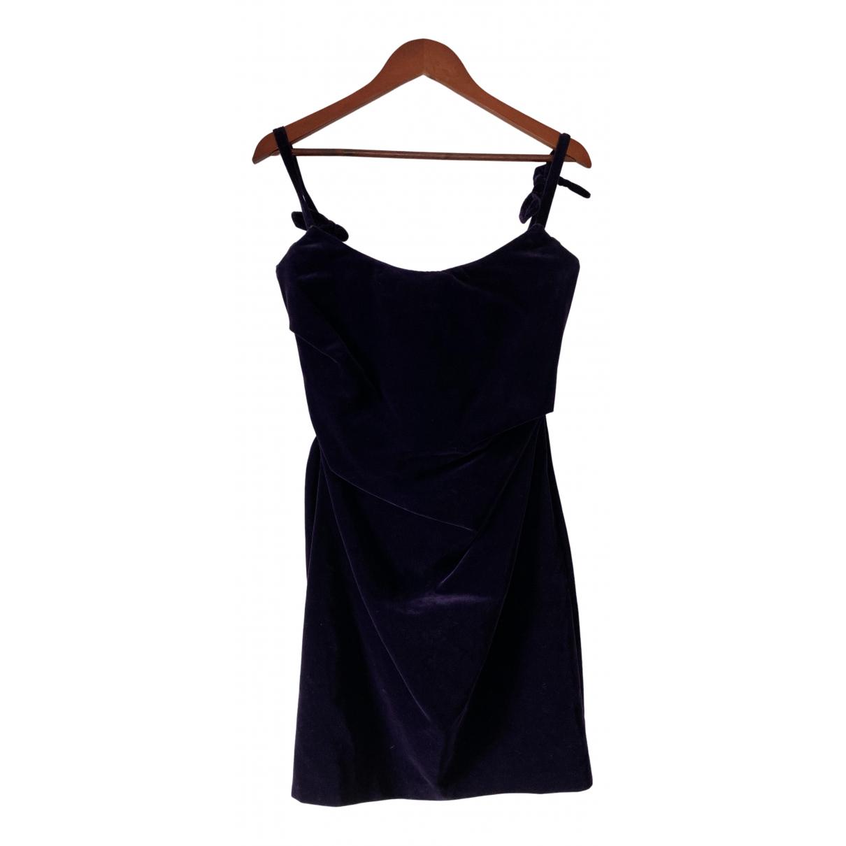 Vivienne Westwood Red Label \N Kleid in  Lila Samt