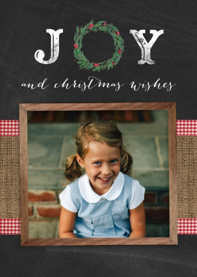 Christmas Photo Cards 5x7 Folded Cards, Standard Cardstock 85lb, Card & Stationery -Back To The Barn