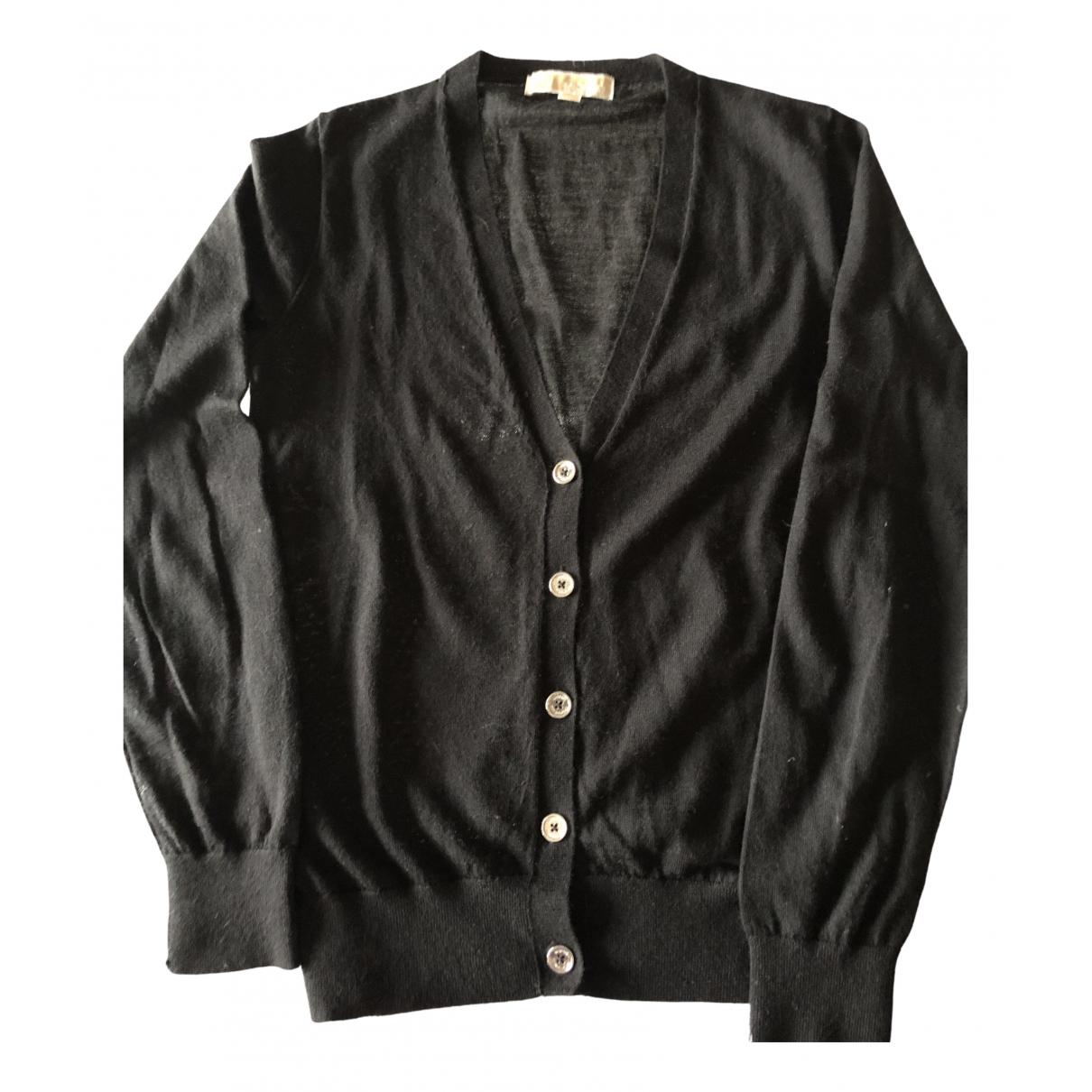 Michael Kors - Pull   pour femme en laine - noir