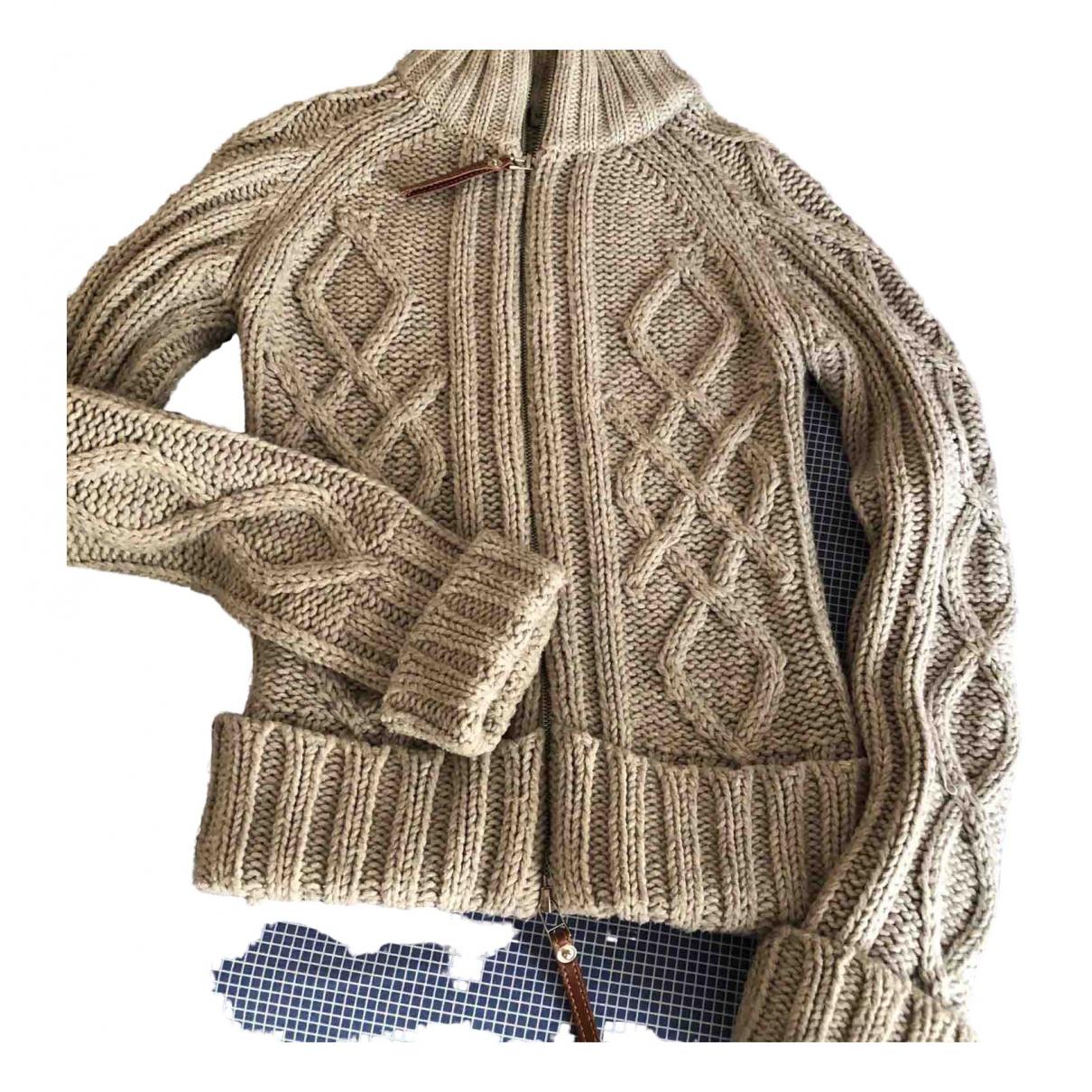 Non Signé / Unsigned \N Beige Wool Knitwear for Women 32 FR