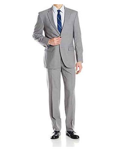 Men's Daniel Craig James Bond Skyfall Grey 2 Button Notch Lapel Suit