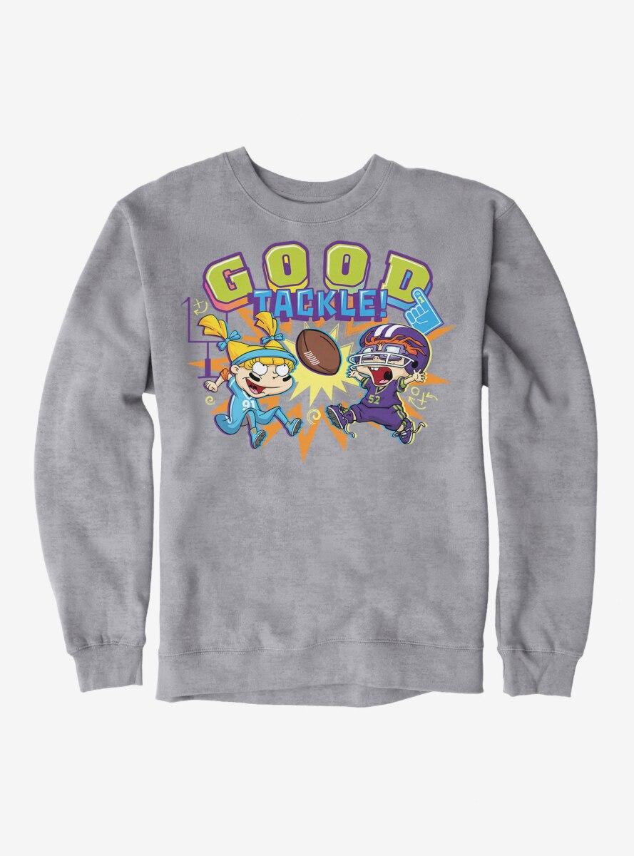 Rugrats Angelica And Chuckie Good Tackle Sweatshirt