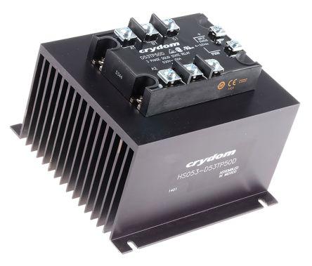 Sensata / Crydom 82.5 A rms Solid State Relay, Zero Cross, Panel Mount, 530 V rms Maximum Load