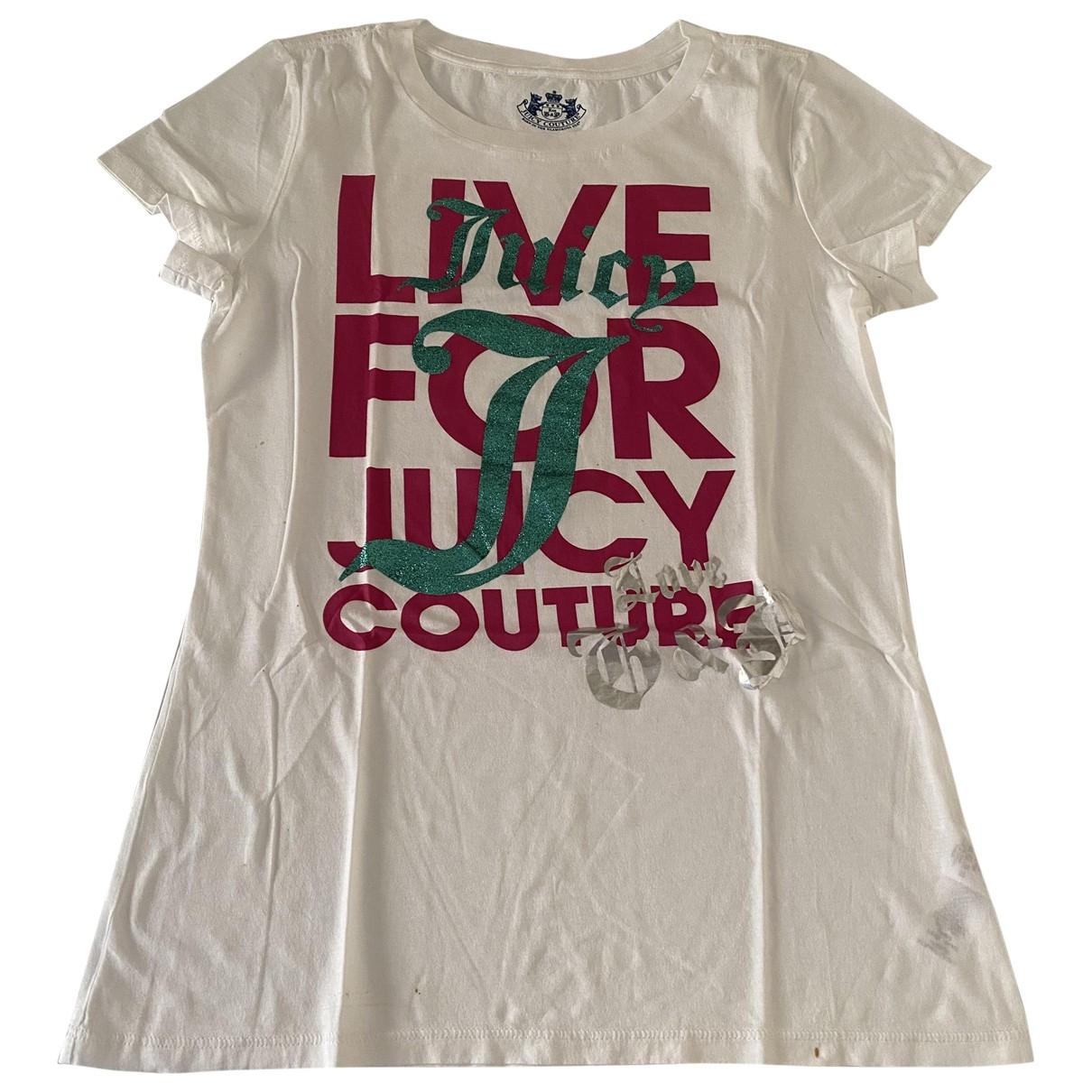 Juicy Couture \N Top in  Weiss Baumwolle