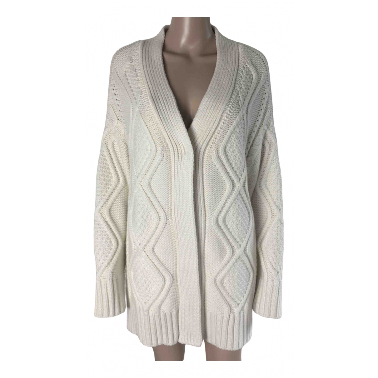 Roberto Cavalli N White Wool jacket for Women 42 IT