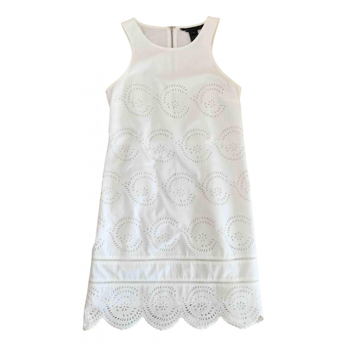 Marc By Marc Jacobs \N Kleid in  Weiss Baumwolle
