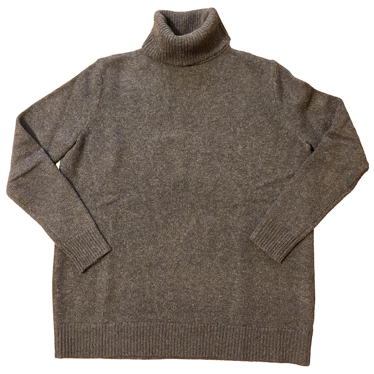 Zara - Pull   pour femme en cachemire - gris