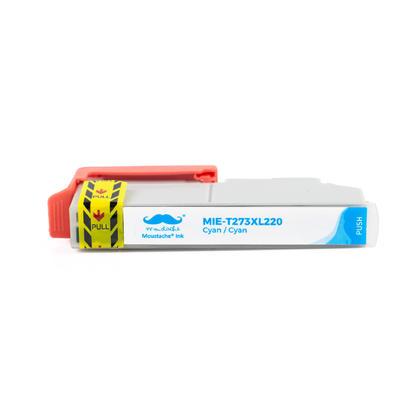 Compatible Epson T273XL220 - 273XL Cyan Ink Cartridge High Yield - Moustache