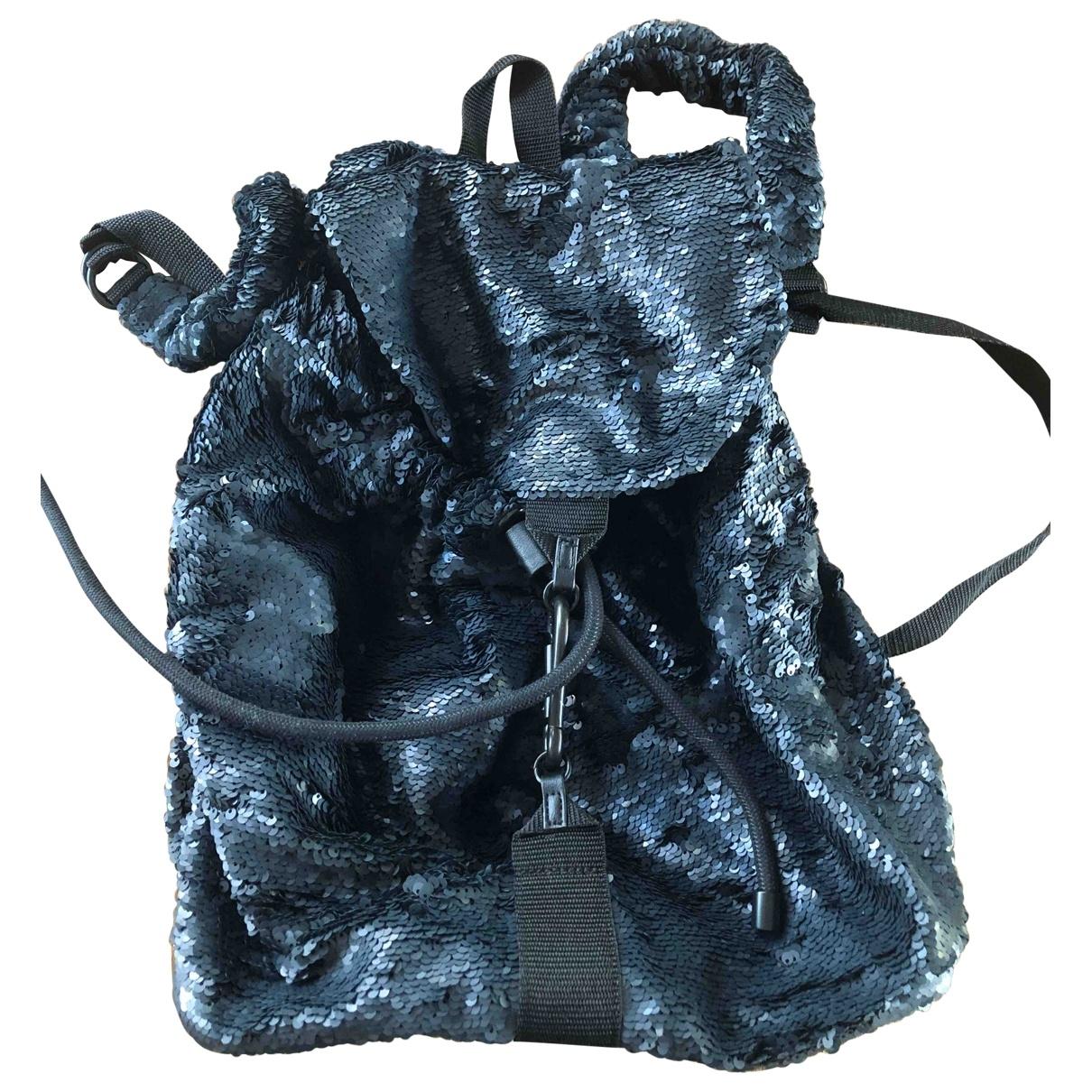 Zara \N Black Glitter backpack for Women \N