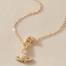 Halskette mit Planet Anhaenger