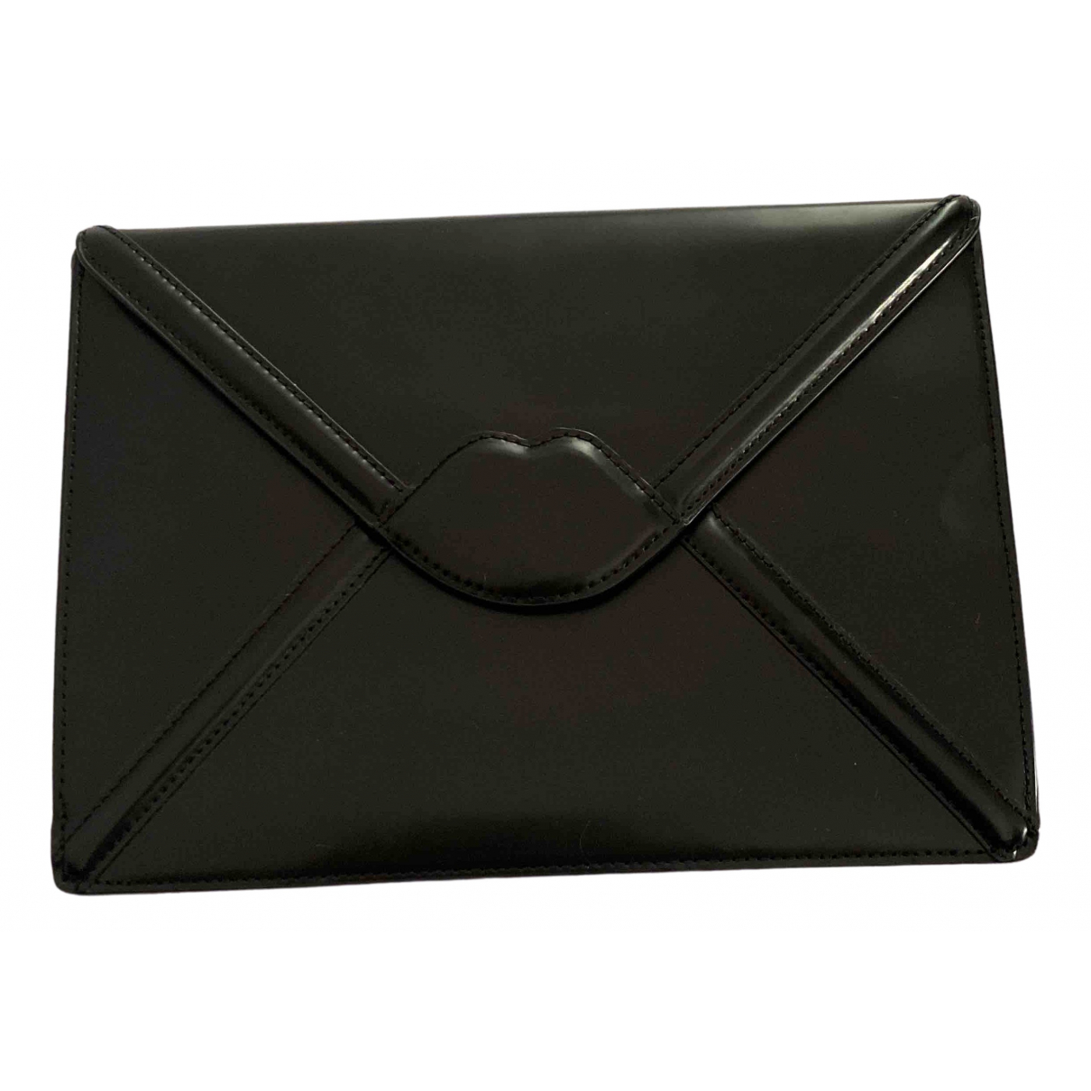 Lulu Guinness \N Black Leather Accessories for Life & Living \N