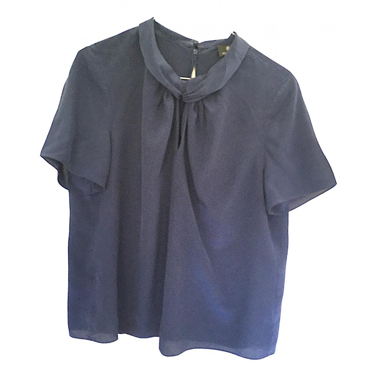 Rena Lange \N Blue Silk  top for Women 50-52 IT