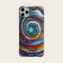 Wirbel Galaxy Muster iPhone Huelle