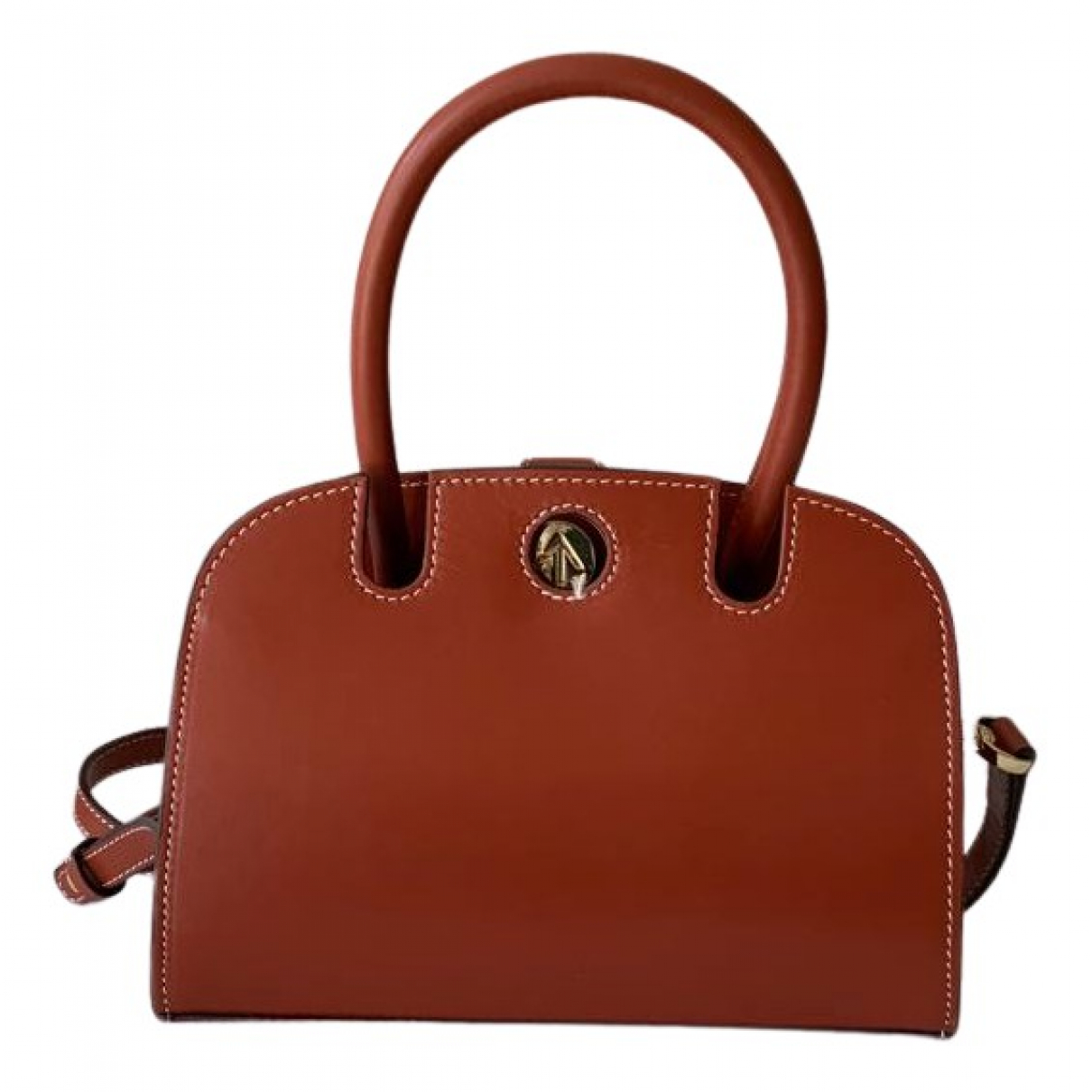 Manu Atelier \N Handtasche in  Rot Leder