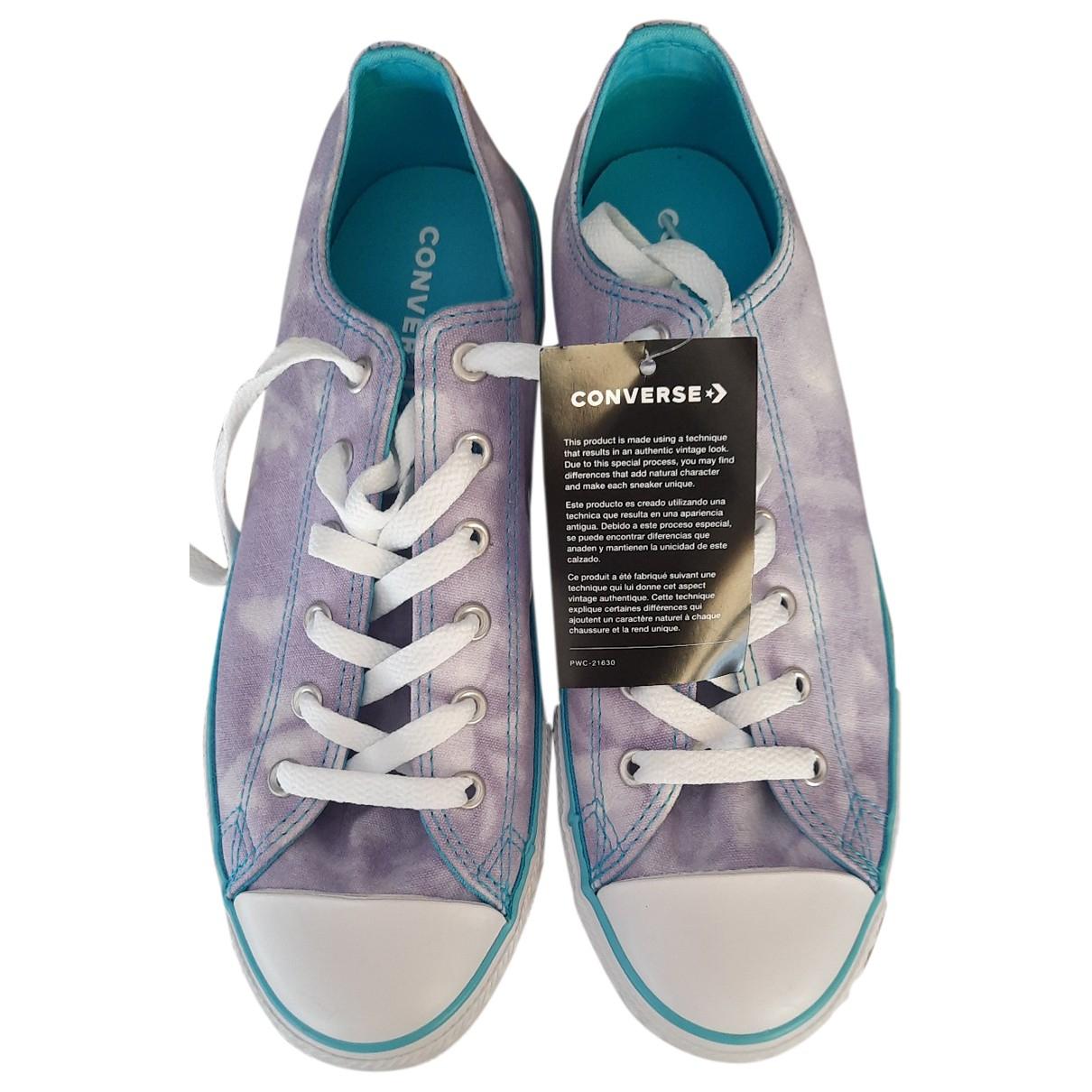 Converse - Baskets   pour femme en toile - violet