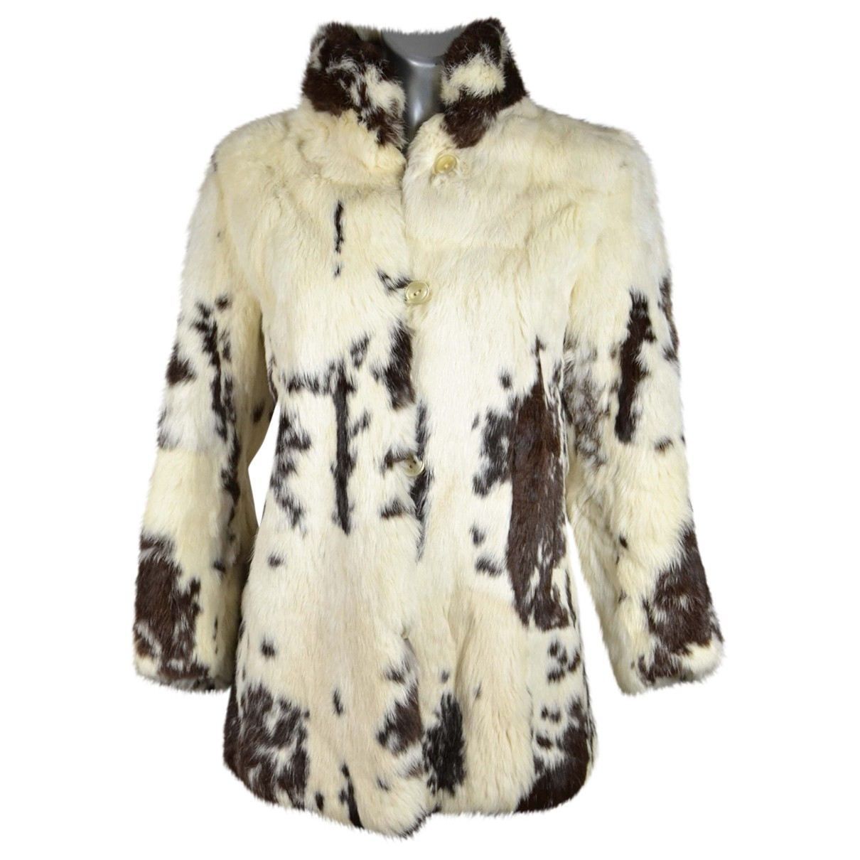 Non Signé / Unsigned \N White Rabbit coat for Women 42 IT