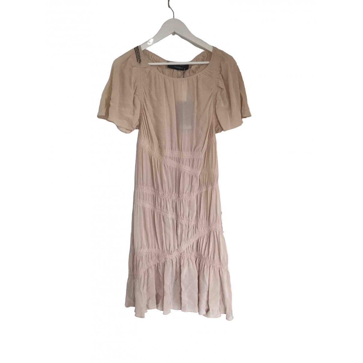 Thakoon \N Kleid in  Rosa Seide