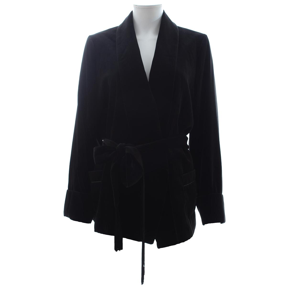Racil - Veste   pour femme en velours - noir