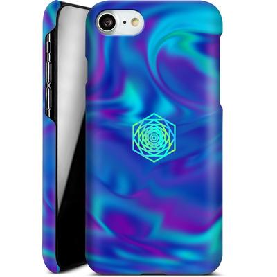Apple iPhone 7 Smartphone Huelle - PSYCHEDELIC BLUE von Berlin Techno Collective
