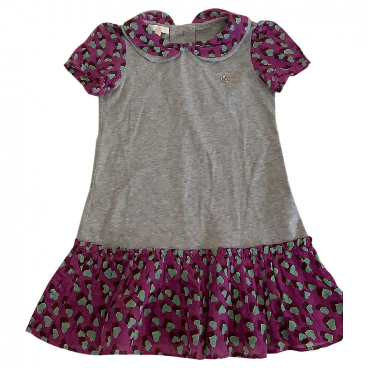 Gucci \N Grey Cotton dress for Kids 3 years - up to 98cm FR