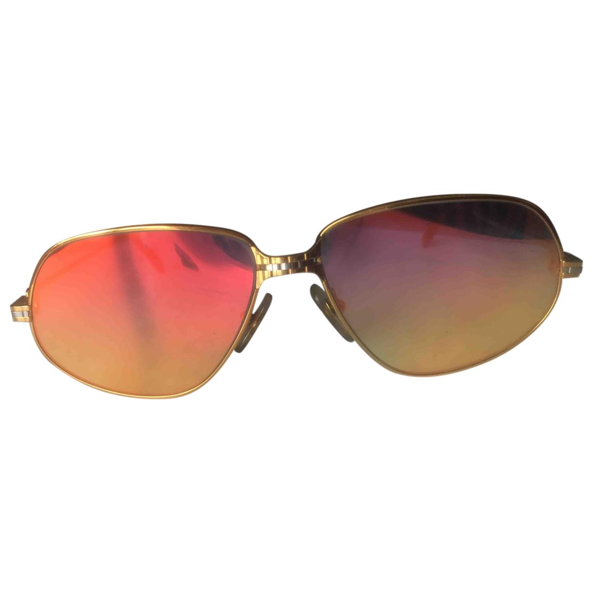 Cartier \N Gold Metal Sunglasses for Men \N