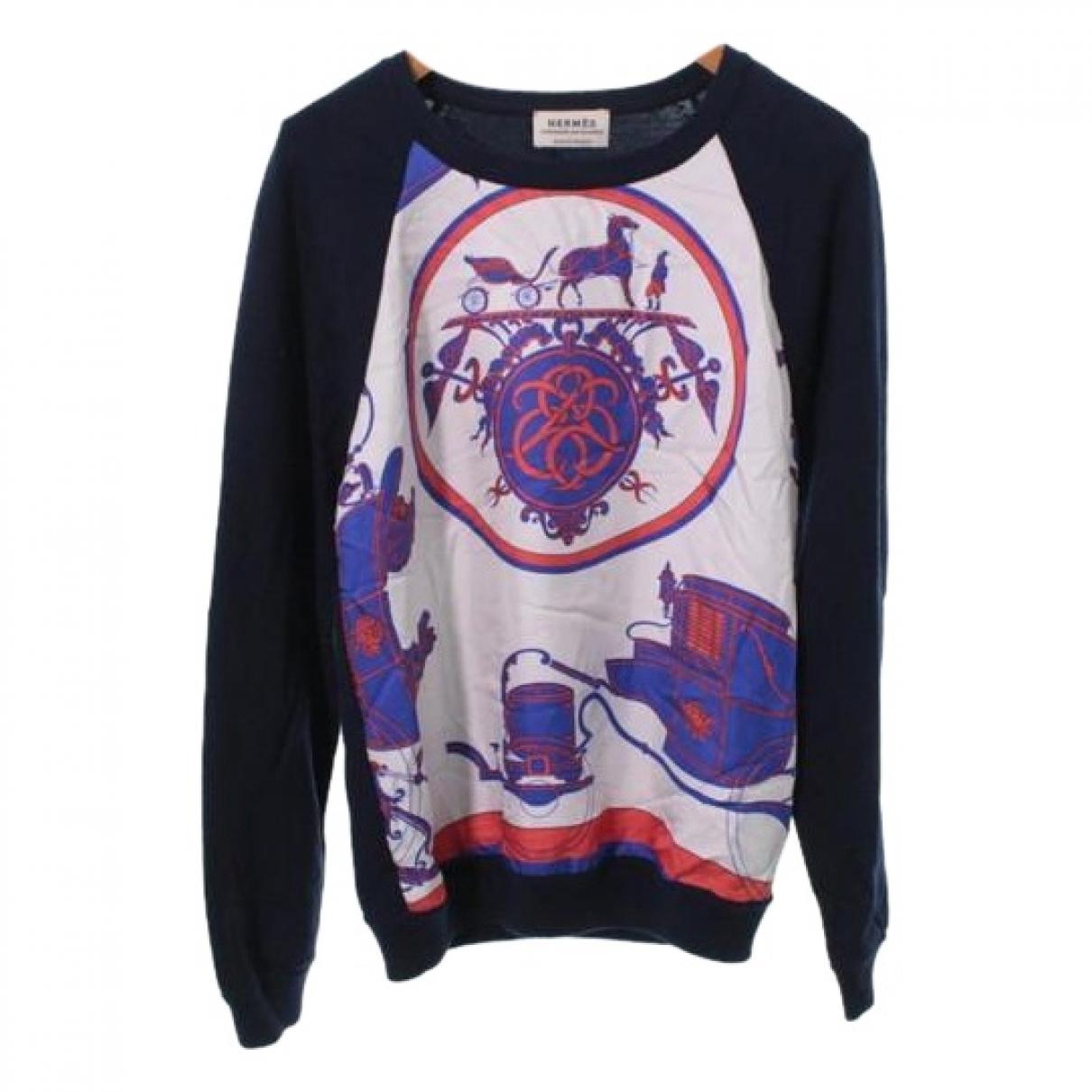 Hermes \N Pullover in  Bunt Wolle