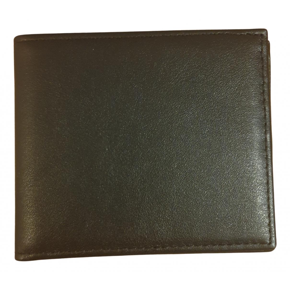 Corneliani - Petite maroquinerie   pour homme en cuir - noir