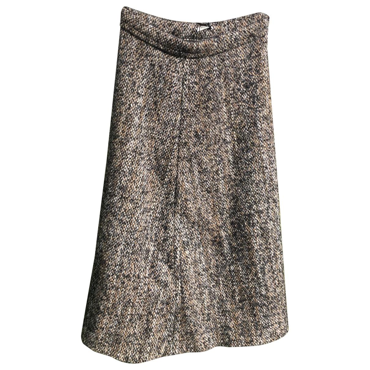 Miu Miu \N Rocke in  Grau Wolle