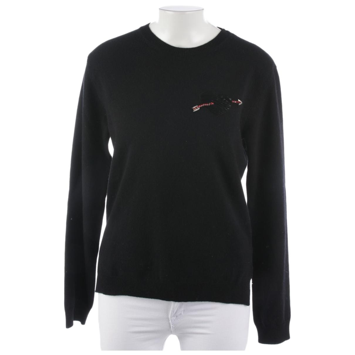 Valentino Garavani \N Pullover in  Schwarz Wolle